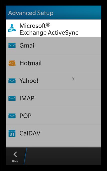 Blackberry 10 Os Email Online Settings It Ucsf Edu