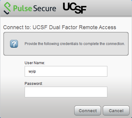Install and Use Pulse Secure VPN Client (Windows & Mac) | it ucsf edu