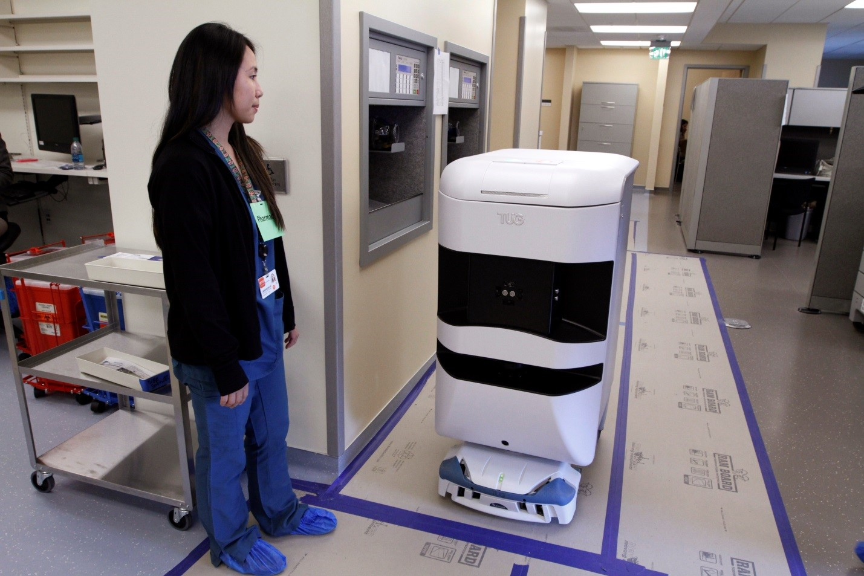 Robot at Mission Bay