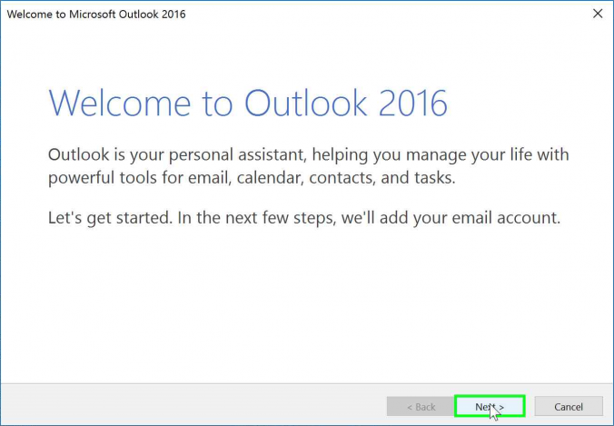 Configure Outlook 2016 for Windows to Access Exchange Online | it