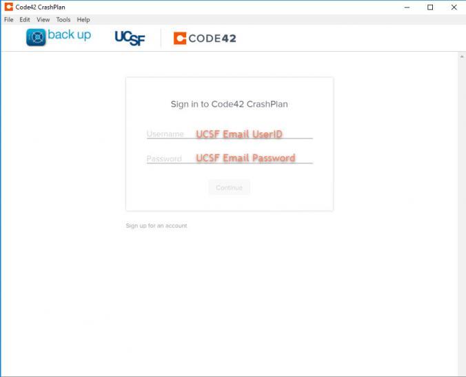 CrashPlan | it ucsf edu