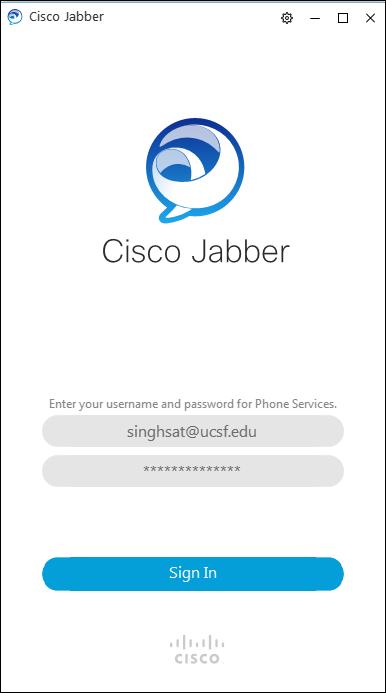 Cisco Jabber UC FAQ | it ucsf edu