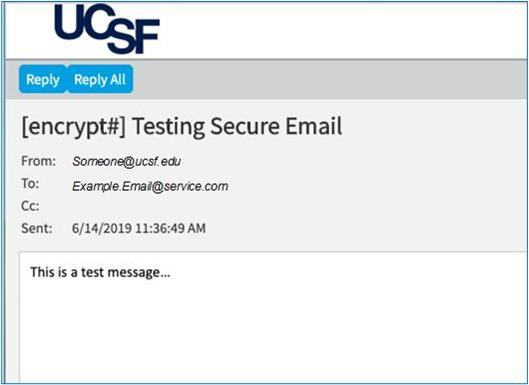 decorative image of received secure email