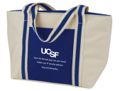 lunch gab with UCSF logo and slogan
