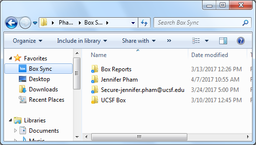Syncing with Box Sync for Windows | it ucsf edu