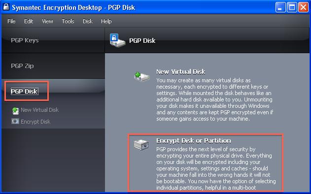 Windows Symantec Encryption Desktop (PGP) Install Guide | it ucsf edu
